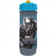 Cana Black Panther izoterma cu pai, 590 ml