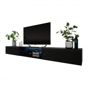 "Comoda TV 88 "" Larka, negru, 300 x 34 x 40cm"