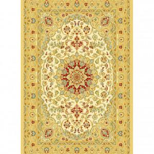 Covor Agra galben / bej, 60 x 120 cm