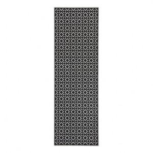 Covor Bona negru / gri, 60x180 cm