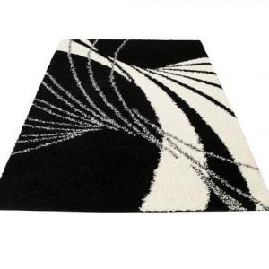 Covor Bruno Banani , negru/alb, 120 x 180 cm