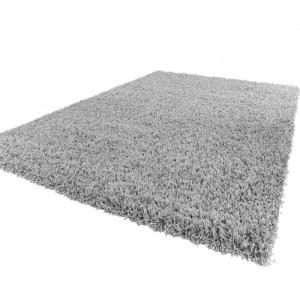 Covor Epperson, polipropilena, gri, 100 x 200 cm