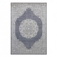 Covor Floral III antracit, 230x160 cm