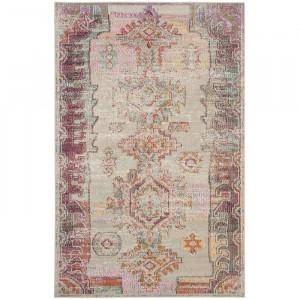 Covor Hanna, gri/violet, 120 x 180 cm