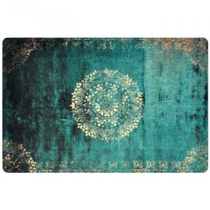 Covor Lanigan, poliamida, verde, 75 x 120 cm