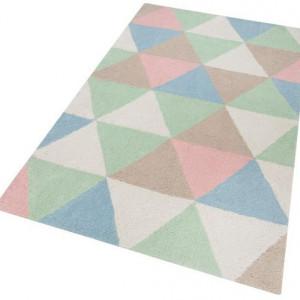 Covor Lester, multicolor pastel, 120 x 180 cm