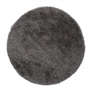 Covor Sora tesatura argintiu fumuriu, 150 cm