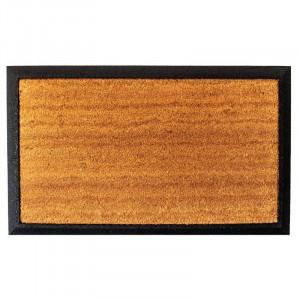 Covoras de intrare Guco, maro/negru, 75 x 45 cm