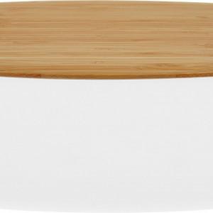 Cutie pentru paine Box-It, gri/maro, 35 x 12 x 23 cm