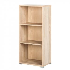 Dulap de arhivare Office Line V PAL/plastic/stejar, maro, 52 x 114 x 35 cm