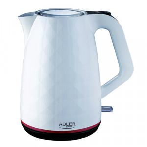 Fierbator Adler AD 1277, alb, 1.7 L, 2200 W