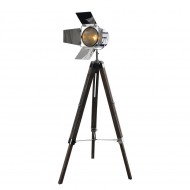 Lampadar Tripod Copper, pin masiv /metal, crom