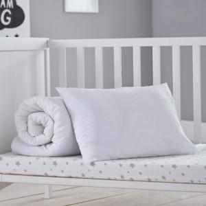 Lenjerie de pat, alb, 120 x 150 cm
