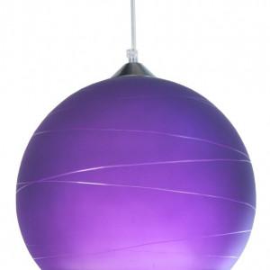 Lustră pandantiv Jonathan, violet, 100cm H x 30cm W x 30cm D