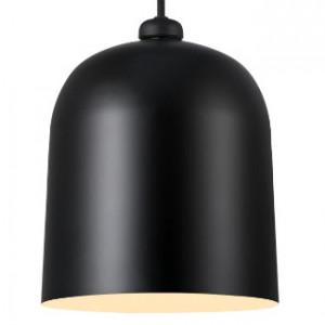 Lustra tip pendul Angle, metal, neagra, 21 x 25 x 21 cm