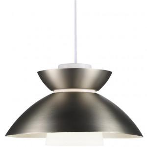 Lustra tip pendul Mirror otel, gri, 3 m, 230 V, 40 W