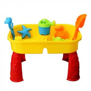 Masa de exterior copii pentru nisip si apa cu accesorii, Oypla