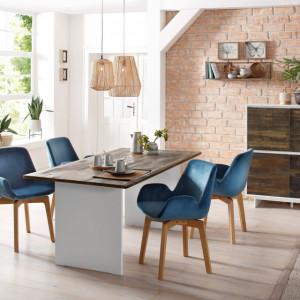 Masa de living Home Affaire, lemn masiv, 180 x 90 x 76 cm