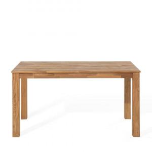 Masă extensibilă din stejar MAXIMA, lemn deschis, 180/270 x 85 cm