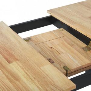 Masă extensibilă Houston din lemn, 120/150 x 80 cm