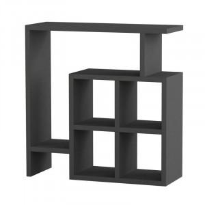 Masa laterala cu spatiu de depozitare, 57 x 55 cm