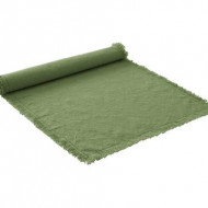 Napron Hilma din bumbac, verde