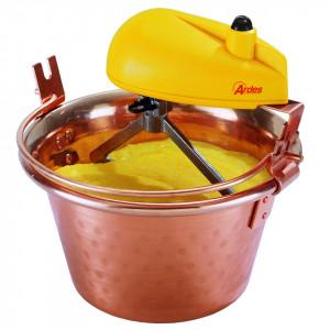 Oala cu mixer Ardes AR2480, cupru/galben, 28 cm