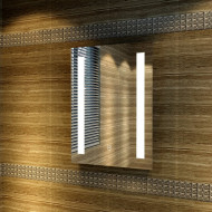Oglindă baie Arlean Fog Free, 45cm H x 60cm W x 3,5cm D