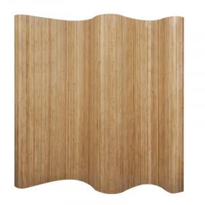 Paravan Staley, bambus/ratan, maro, 165 x 250 cm