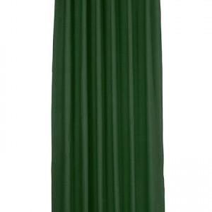Perdea Tom Tailor T-Dove, bumbac, verde închis, 140cm L x 255cm D