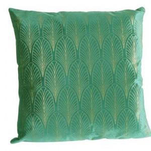 Perna decorativa Pattern, verde/auriu