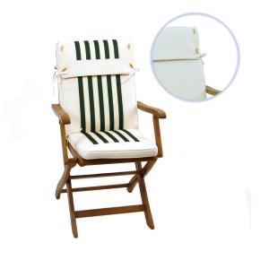 Perna pentru scaun VACCHETTI, crem / verde