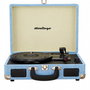 Pick-up vintage cu valiza , bleu