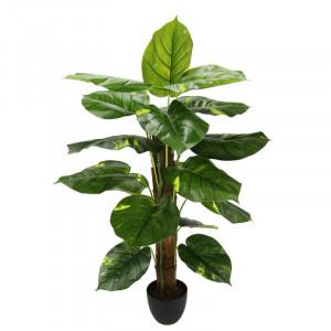 Planta artificiala, verde/negru, 80 x 40 x 40 cm