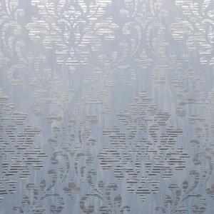 Rolă de tapet Charice, satin, albastru, 1005 x 53 cm
