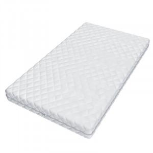 Saltea din spumă Baby Comfort, alb, 80 x 160 x 9 cm