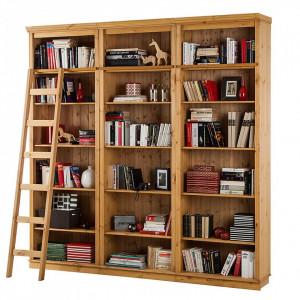 Scara pentru biblioteca din lemn masiv Lilehammer