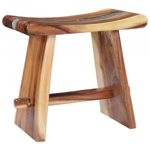 Scaun Almus, lemn masiv, 45 x 45 x 30 cm