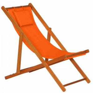 Scaun de gradina ArAgon, portocaliu, 110 x 58 x 90 cm