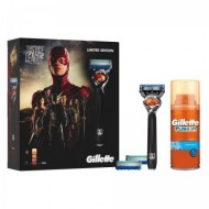 Set cadou editie limitata Justice League Gillette Pro Glide Razor si gel hidratant 75 ml