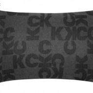 Set de 2 fete de perna Monogram carbone, 50x75 cm