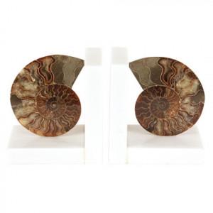 Set de 2 opritoare de carti Ammonite