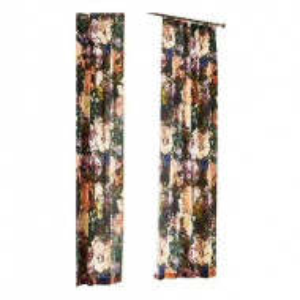 Set de 2 perdele Flori, 115x220 cm