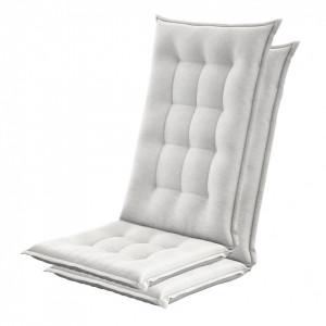 Set de 2 perne Garden Basic pentru scaune de terasa albe