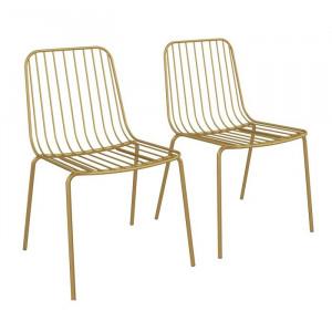Set de 2 scaune Bourquin, 80,01 x 55,88 x 52,07 cm