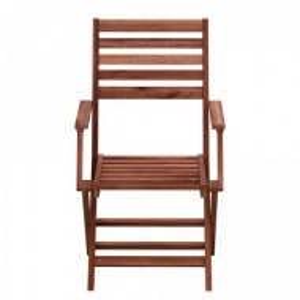 Set de 2 scaune rabatabile MIMO II din salcam