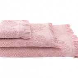 Set de 3 prosoape Ines rosa