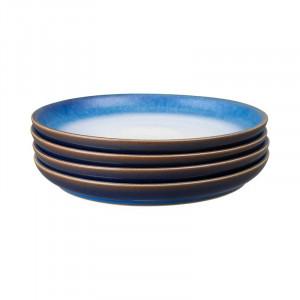 Set de 4 farfurii Haze din ceramică, d. 21 cm