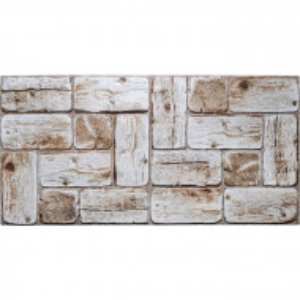 "Set de 4 placi de mozaic Willett, PVC, 47,9 x 96"""