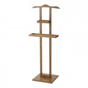 Suport pentru haine Balto, lemn, maro, 115 x 44,5 x 32 cm